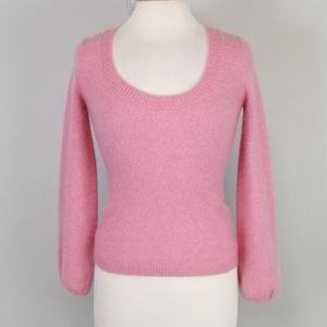 Old Navy Puff Sleeved Cashmere Sweater Size XS